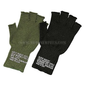 BRONER HEADWEAR Gloves - Fingerless - Wool