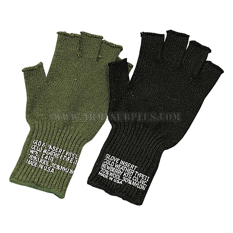 BRONER HEADWEAR Broner, Wool Fingerless Gloves