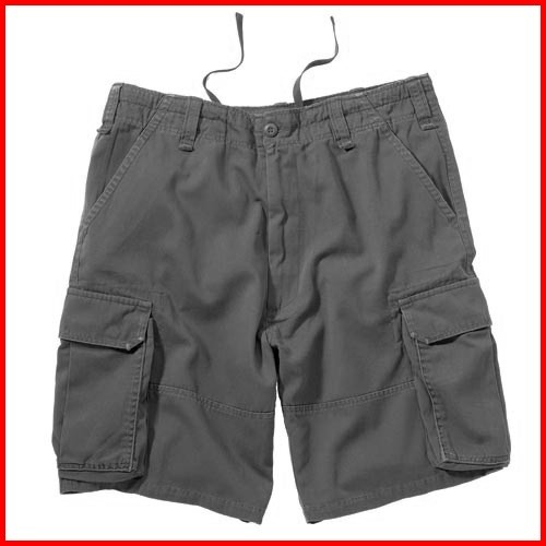 Ultra Force, Vintage Camo Paratrooper Cargo Shorts