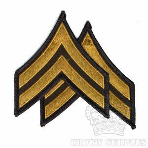Patch - US Army Ranks