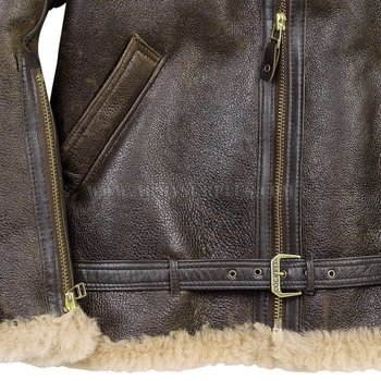 COCKPIT USA Jacket - Flight - R.A.F. Sheepskin Jacket