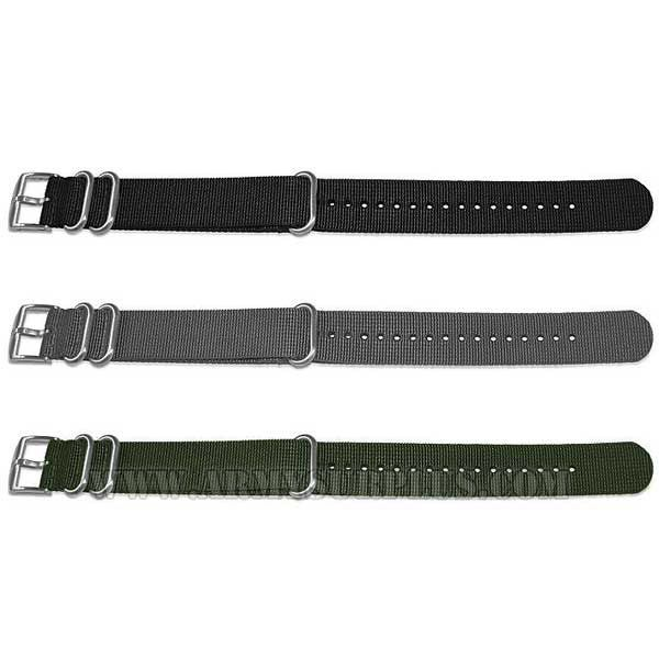 LUMINOX Luminox, Nylon NATO Watch Strap