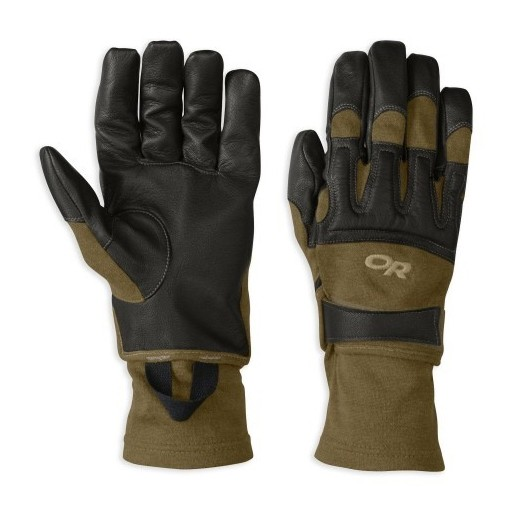 GENUINE SURPLUS Outdoor Research, Rockfall, Sensor Gloves, Black/Coyote