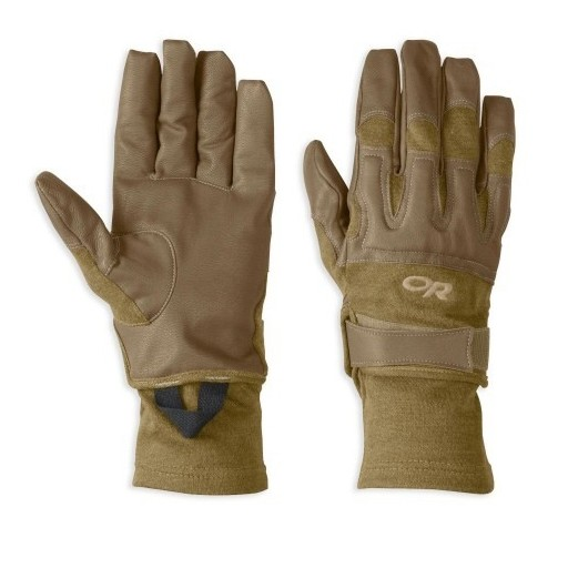 GENUINE SURPLUS Outdoor Research, Rockfall, Gloves, Flame Resitant, Coyote