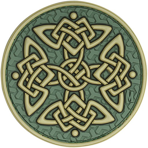 MAXPEDITION Maxpedition, Celtic Cross Patch, PVC, Velcro Back