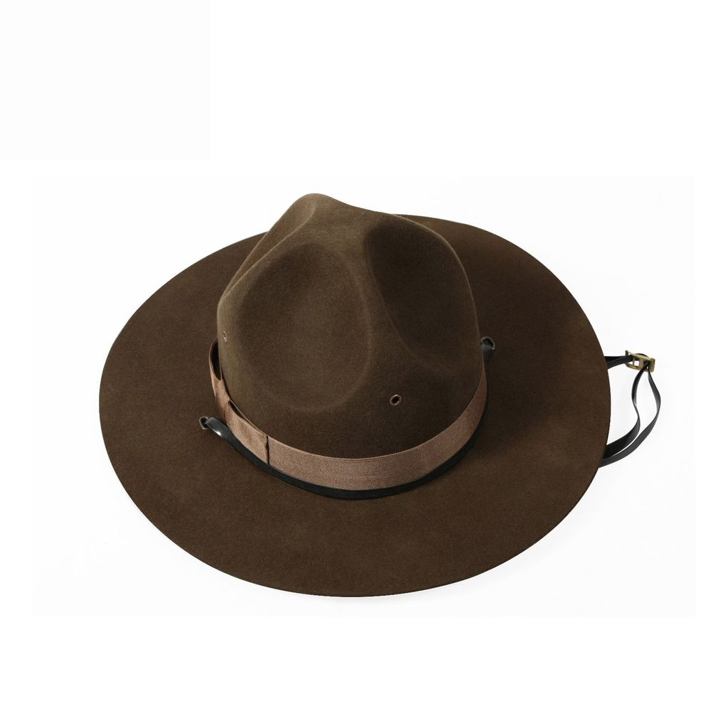 ROTHCO Rothco, Military Campaign, Hat, Brown