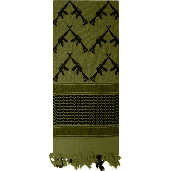 how to wear a shemagh tactical desert scarf