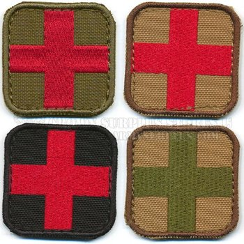 CONDOR Patch - Medic Cross - Velcro Backed