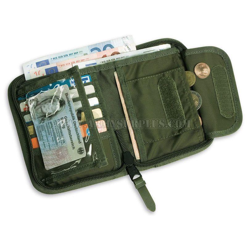 TASMANIAN TIGER Wallet, TT Mil, Locking Zipper, Tasmanian Tiger
