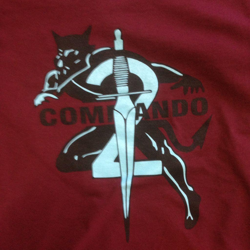 T-Shirt, 2 Commando