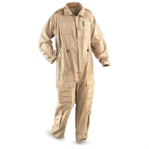 GENUINE SURPLUS Coverall, AFV (Armour Fighting Vehicle) British Army, Flame Retardant