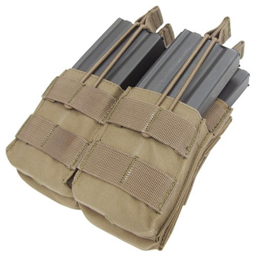 CONDOR Condor, Double Stacker Open-Top M4 Mag Pouch