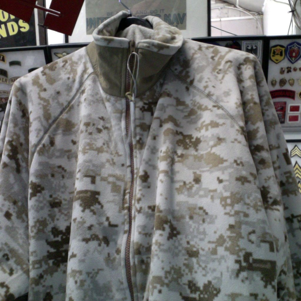 GENUINE SURPLUS Jacket - Fleece - USMC