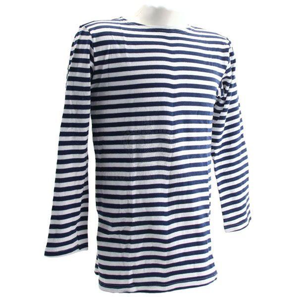 GENUINE SURPLUS Shirt - Russian - Striped Telnyashka