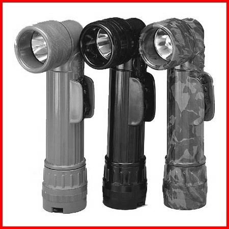 ROTHCO Flashlight - Angled - D-cell - G.I. Issue