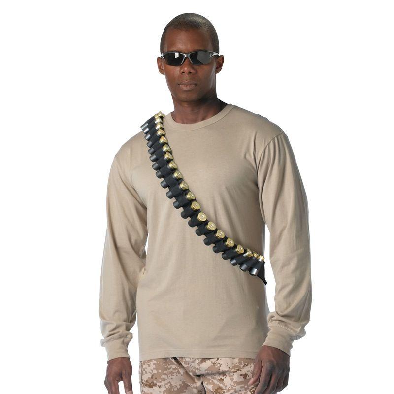 ROTHCO Shotgun Bandolier, Black