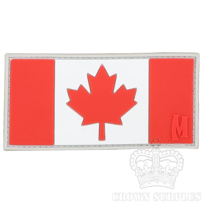 MAXPEDITION Maxpedition, Canadian Flag Patch, PVC, Velcro Back