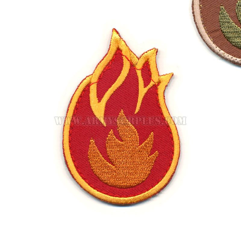 MIL-SPEC MONKEY Mil-Spec Monkey, Fireball Patch