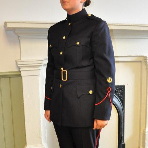 GENUINE SURPLUS Coat, RMC, Women's, Navy Blue, [Tunic]