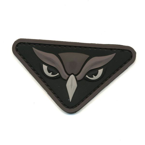 MIL-SPEC MONKEY Patch, Owl Head, PVC, Velcro Back