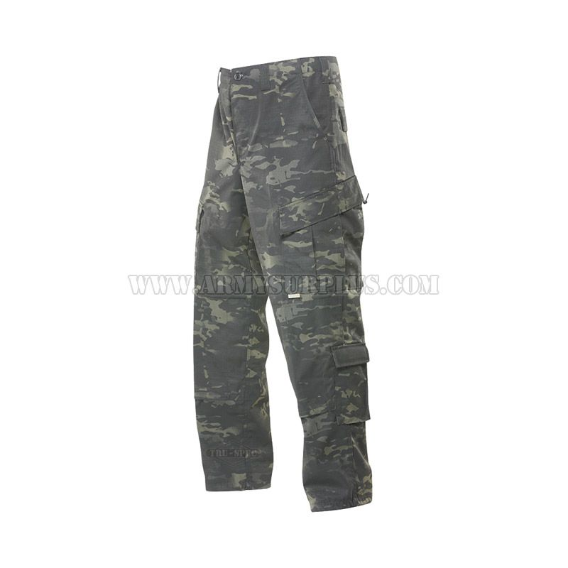 TRU-SPEC TRU-SPEC, Tactical Response Uniform (TRU) Pants, MultiCam Black