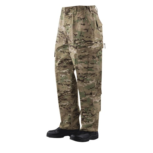 TRU-SPEC TRU-SPEC, Tactical Response Uniform (TRU) Pants, MultiCam, 50/50 Nylon/Cotton RipStop