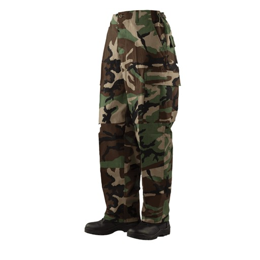TRU-SPEC TRU-SPEC, Classic BDU Pants, Woodland, 50/50 Nylon/Cotton RipStop