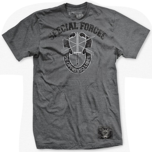 RANGER UP Ranger Up, Special Forces Ultra-Thin Vintage T-Shirt