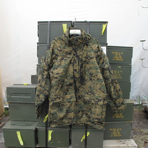 GENUINE SURPLUS Parka - Goretex - Marpat - Woodland - All Purpose Environment - USMC- SURPLUS