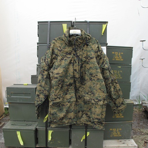 GENUINE SURPLUS Parka - Gortex - Marpat - Woodland - All Purpose Environment - USMC