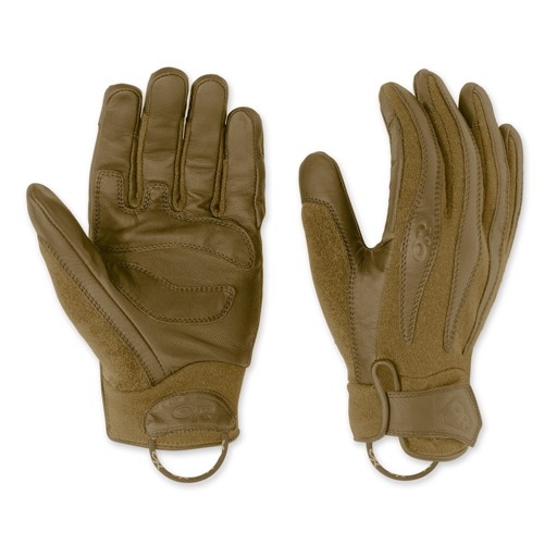 GENUINE SURPLUS Outdoor Research, Flashpoint, Fire Retardent, Gloves, Coyote