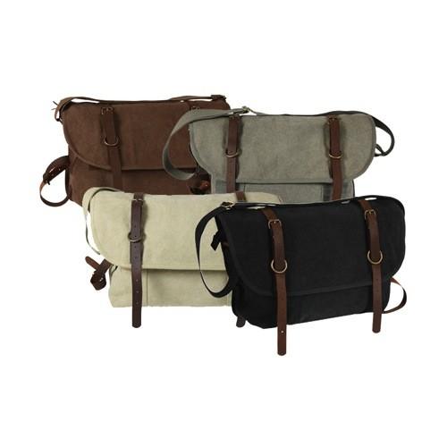 ROTHCO Bag - Shoulder - Vintage Canvas & Leather - Explorer