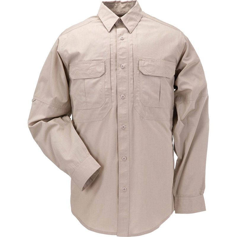 5.11 TACTICAL 5.11 Tactical, Taclite Pro Long Sleeve Shirt, TDU Khaki