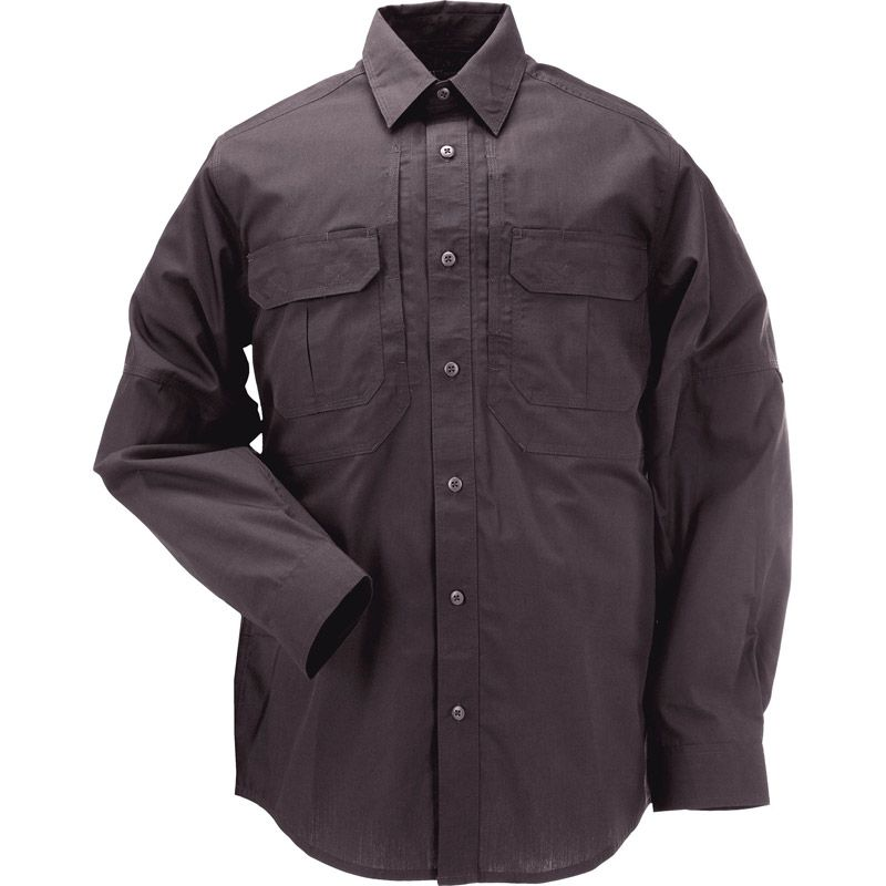 5.11 TACTICAL 5.11 Tactical, Taclite Pro Long Sleeve Shirt, Charcoal