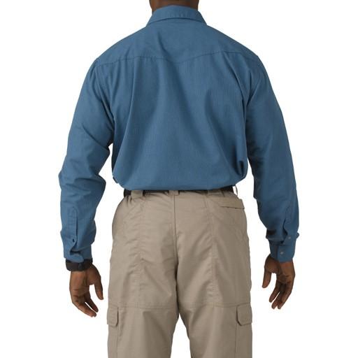 5.11 TACTICAL 5.11 Tactical, Covert Herringbone Shirt, Regatta