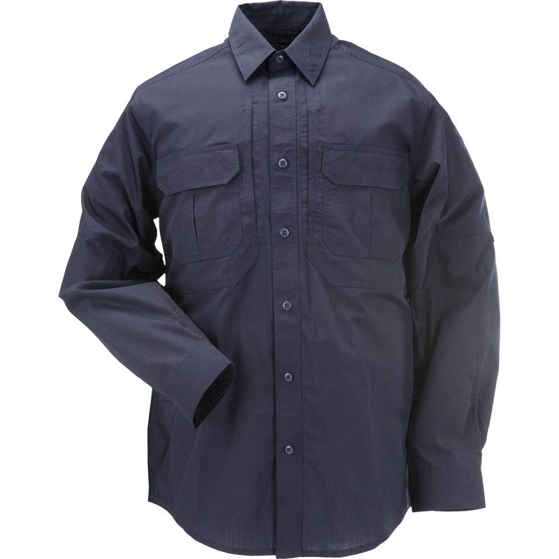 5.11 TACTICAL 5.11 Tactical, Taclite Pro Long Sleeve Shirt, Dark Navy