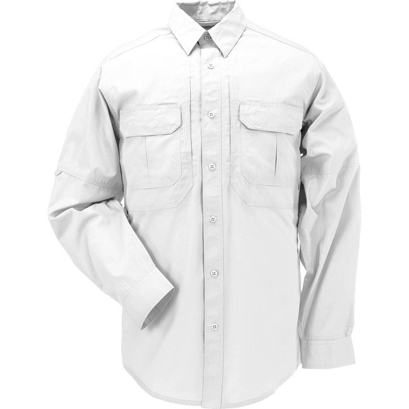 5.11 TACTICAL 5.11 Tactical, Taclite Pro Long Sleeve Shirt, White