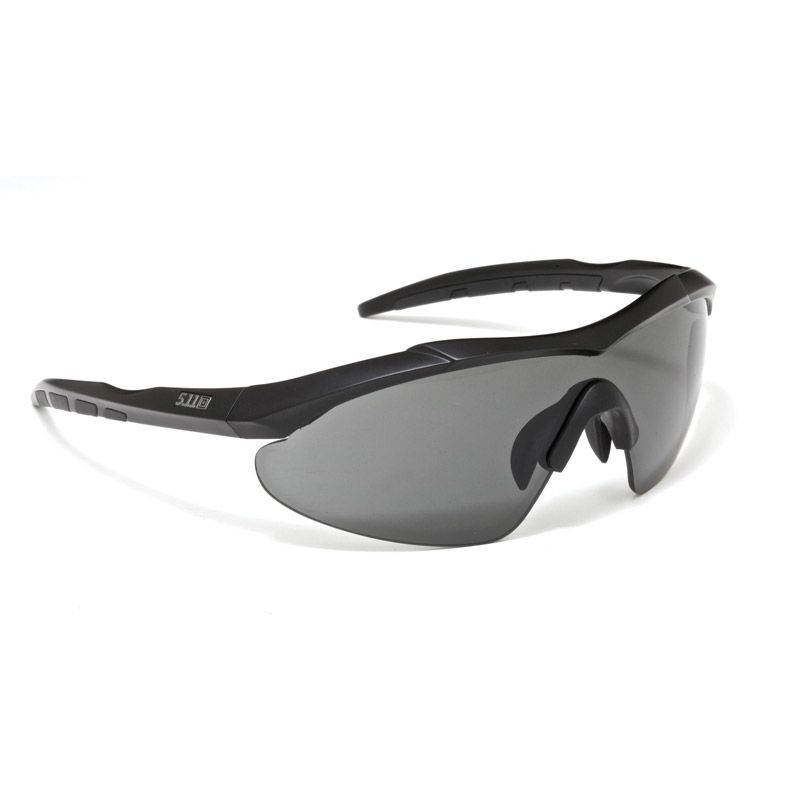 5.11 TACTICAL 5.11 Tactical, Aileron Shield Ballistic Sunglasses, Interchangeable Lens