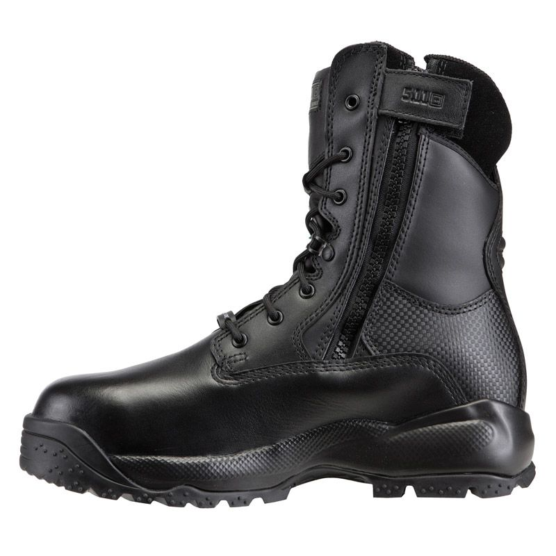 "5.11 TACTICAL 5.11 Tactical, A.T.A.C. 8"" Shield Boot, CSA Composite Toe, Black"