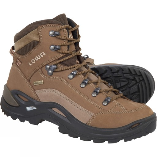 lowa renegade gtx mid boots taupe sepia women 39 s. Black Bedroom Furniture Sets. Home Design Ideas