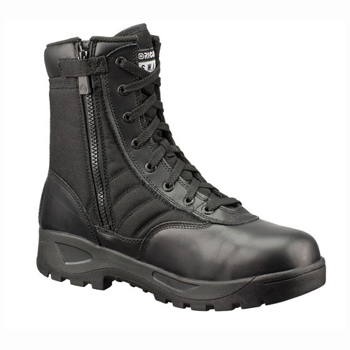 ORIGINAL SWAT Original S.W.A.T., Classic 9'', Waterproof, Side Zip, Safety Toe CSA, Men's, Black
