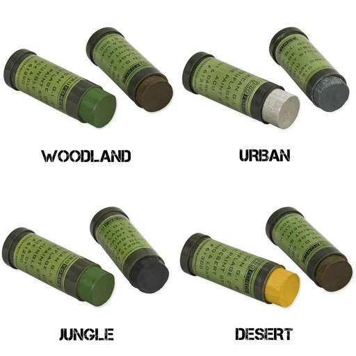 PROFORCE Camcon, Camouflage Face Paint Sticks