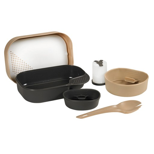 PROFORCE Wildo, Camp-A-Box Complete Mess Kit