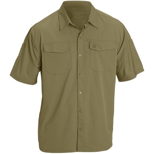 5.11 TACTICAL 5.11 Tactical, Freedom Flex Woven Short Sleeve Shirt
