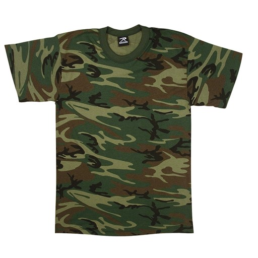 ROTHCO Rothco, Woodland T-Shirt, U.S. Made