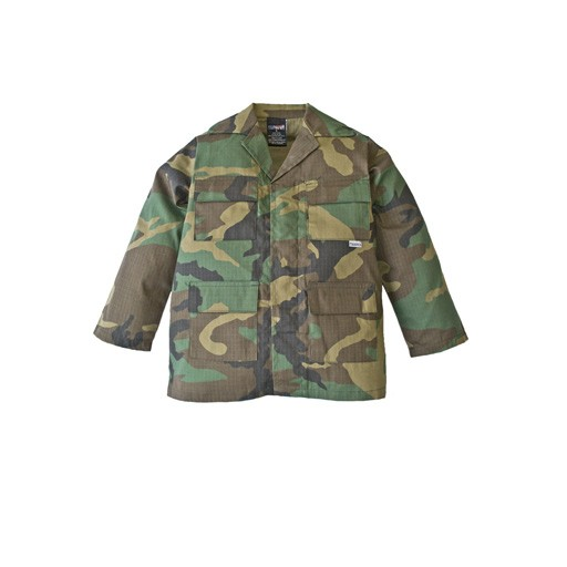 TROOPER CLOTHING Trooper Clothing, Kids BDU Top, Woodland