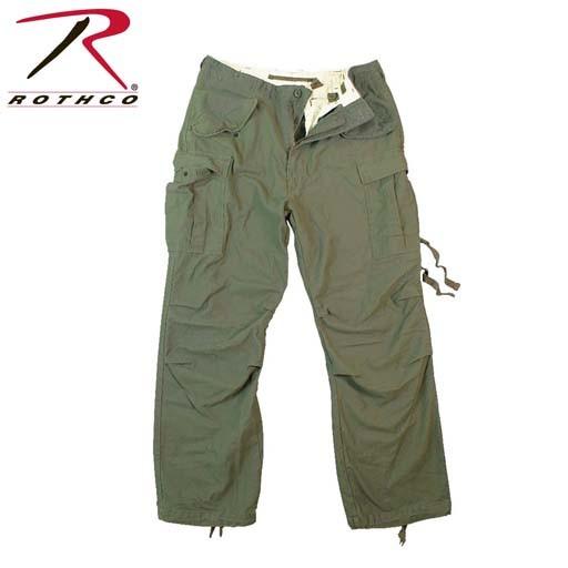 ROTHCO Rothco Vintage M-65 Field Pant, Olive Drab
