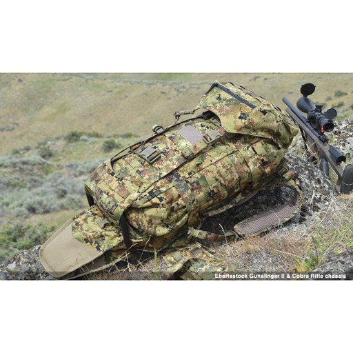EBERLESTOCK The G2 is the latest evolution of the original GS05M Gunslinger pack, and both are in wide use by elite military, police, and civilians all over the world -- snipers, marksmen, and regular folks who appreciate the overwhelming utility and versatility of t