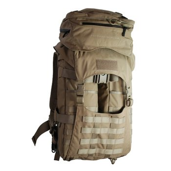 EBERLESTOCK We first built the J51 Warhammer around the ALICE frame, a tried and true pack frame. Using the frame as a core structure, we developed an entirely new style of pack that has amazing utility and versatility. It takes advantage of the ALICE's compact size,