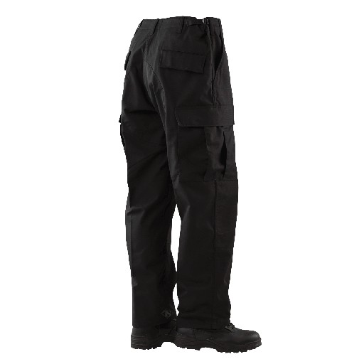 TRU-SPEC TRU-SPEC, BDU Pants, Black, 65/35 Polyester/Cotton